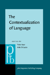 image of The Contextualization of Language