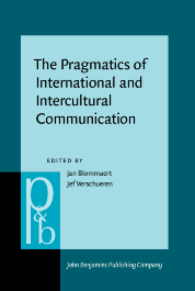 image of The Pragmatics of International and Intercultural Communication