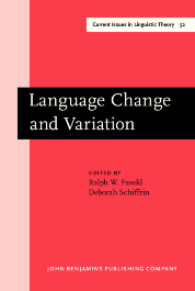 image of Language Change and Variation