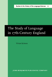 image of The Study of Language in 17th-Century England