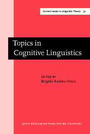 image of Topics in Cognitive Linguistics
