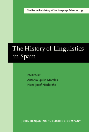 image of The History of Linguistics in Spain
