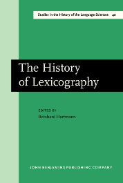 image of The History of Lexicography