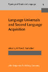 image of Language Universals and Second Language Acquisition