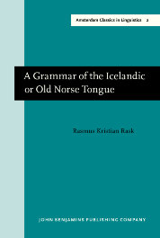 image of A Grammar of the Icelandic or Old Norse Tongue
