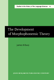 image of The Development of Morphophonemic Theory