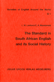 image of The Standard in South African English and its Social History