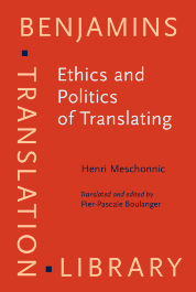 image of Ethics and Politics of Translating