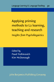 image of Applying priming methods to L2 learning, teaching and research