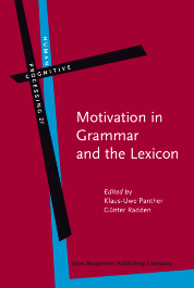 image of Motivation in Grammar and the Lexicon
