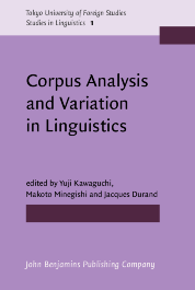 image of Corpus Analysis and Variation in Linguistics