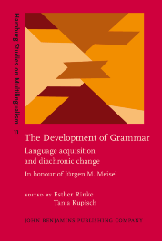 image of The Development of Grammar