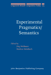 image of Experimental Pragmatics/Semantics