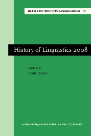 image of History of Linguistics 2008