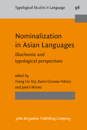image of Nominalization in Asian Languages