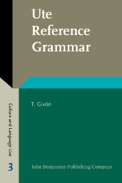 image of Ute Reference Grammar