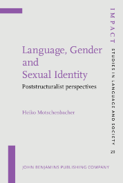 image of Language, Gender and Sexual Identity