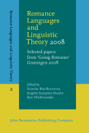 image of Romance Languages and Linguistic Theory 2008