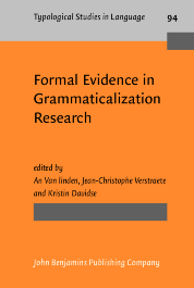 image of Formal Evidence in Grammaticalization Research