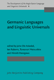 image of Germanic Languages and Linguistic Universals
