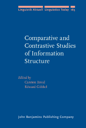 image of Comparative and Contrastive Studies of Information Structure