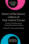 image of History of the Literary Cultures of East-Central Europe