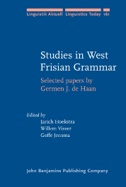 image of Studies in West Frisian Grammar