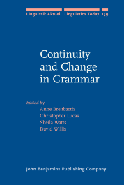 image of Continuity and Change in Grammar