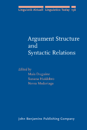 image of Argument Structure and Syntactic Relations