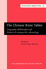 image of The Chinese Rime Tables