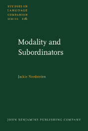 image of Modality and Subordinators
