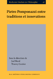 image of Pietro Pomponazzi entre traditions et innovations