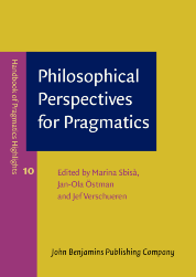 image of Philosophical Perspectives for Pragmatics