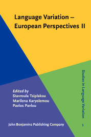 image of Language Variation – European perspectives II