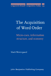 image of The Acquisition of Word Order