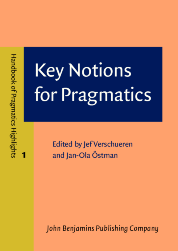 image of Key Notions for Pragmatics