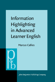 image of Information Highlighting in Advanced Learner English