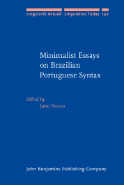 image of Minimalist Essays on Brazilian Portuguese Syntax