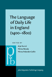 image of The Language of Daily Life in England (1400–1800)