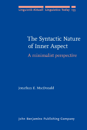 image of The Syntactic Nature of Inner Aspect