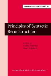 image of Principles of Syntactic Reconstruction