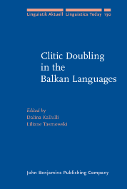 image of Clitic Doubling in the Balkan Languages