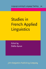 image of Studies in French Applied Linguistics