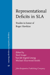 image of Representational Deficits in SLA