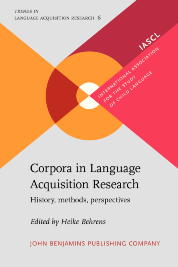 image of Corpora in Language Acquisition Research