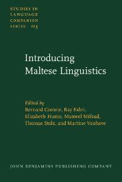 image of Introducing Maltese Linguistics