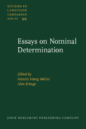 image of Essays on Nominal Determination