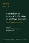 image of 'Subordination' versus 'Coordination' in Sentence and Text