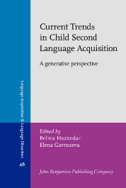 image of Current Trends in Child Second Language Acquisition