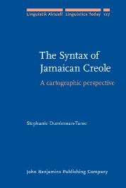image of The Syntax of Jamaican Creole